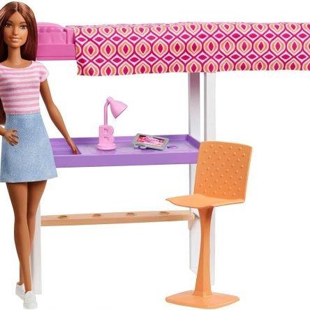 Barbie Playset Camera da Letto