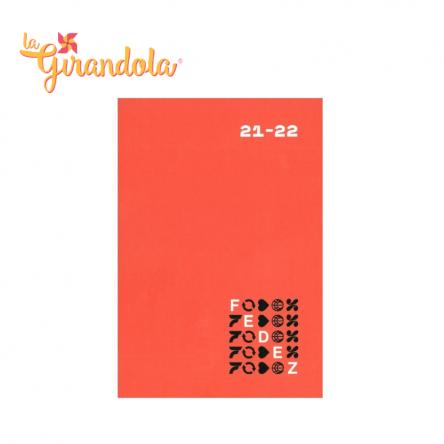 Diario Fedez 16 mesi Standard Arancio