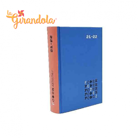 Diario Fedez Standard Blu