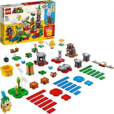 Super Mario Costruisci la tua Avventura Maker set
