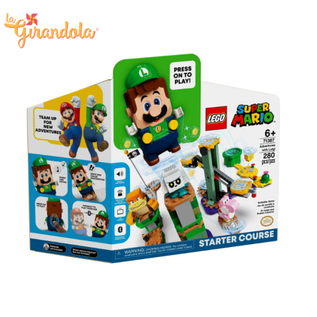 Super Mario Luigi Avventura Starter Pack 71387